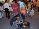 atto in action bodypainting batle 1agustus10 pluit village
